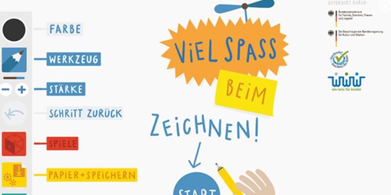SCHULE.at | Kritzel-Klub: Kunterbunter und interaktiver Zeichenspaß
