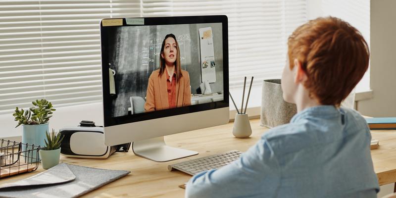 Videokonferenz Schüler lehrer