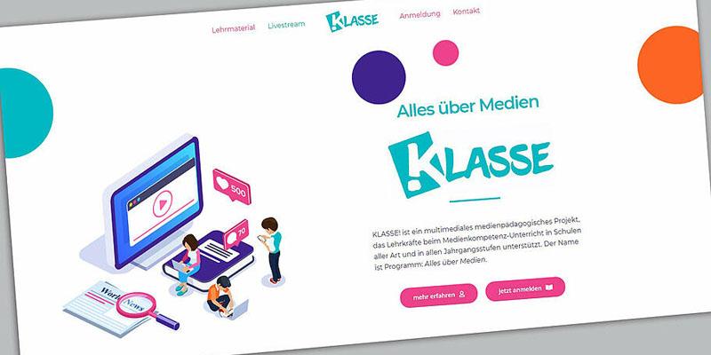 Medienkunde im Unterricht: Das KLASSE!-Projekt setzt auf Medienkompetenz