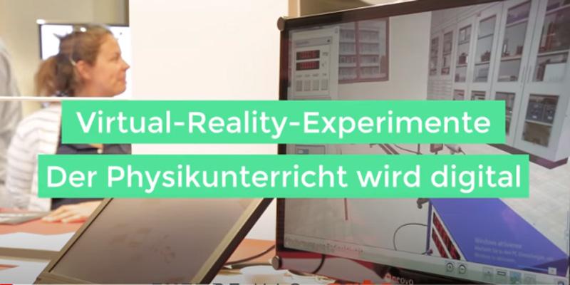 Virtual-Reality-Experimente – Der Physikunterricht wird digital – ARTE FUTURE